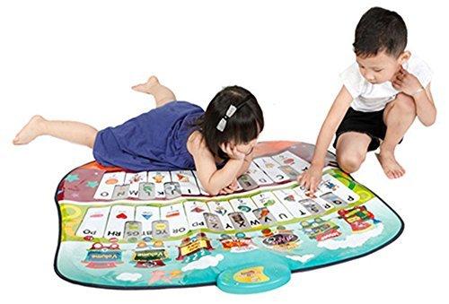 Fun toys Learn and Play Abc Music Piano Fun Dance Mat