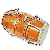 #10: SG Musical Mango Wood Dholak Nut/Bolt Tuned - Festival Dholki