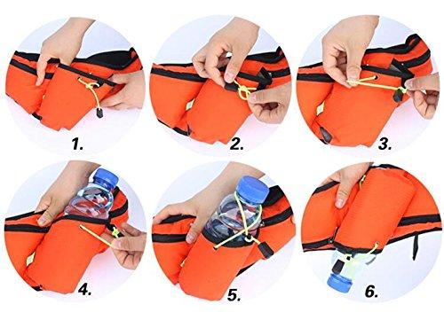 OOFWY Running Waistpack, Sport Wasserkocher Tasche Tasche für Handytaschen Waistpacks Draußen Wasserflasche Tasche für Fitness Radfahren Wandern Walking Männer und Frauen E