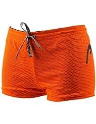 Head Unisex Double Power Drag Suit Shorts Black/Orange