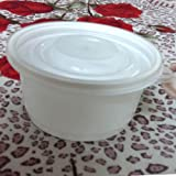 Disposable Bowls with Lid 20pcs Round Fo...