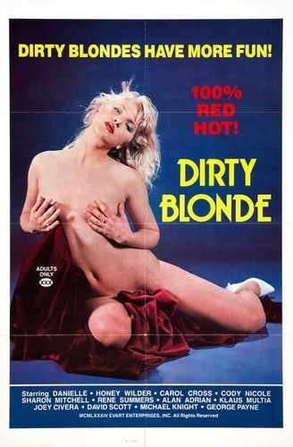 Dirty Blonde Poster 01 A3 Box Canvas Print