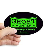 CafePress Ghost Hunter Green Bumper Sticker