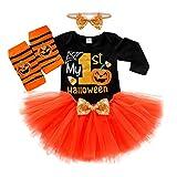 Livoral Halloween Kinderkleidung Kleinkind Baby Kinder Mädchen Jungen Halloween Strampler Body +...