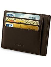 Porte Cartes, Etui RFID Blocage Porte Carte de Crédit, Porte-monnaie for Hommes