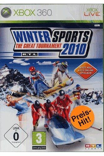 Winter Sports 2010 - The Great Tournament - [Xbox 360] (Xbox 360 Sport-spiele)