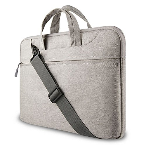 Cabrio Laptop-computer (GADIEMENSS Water-resistant Laptop Shoulder Briefcase Bag Portable Computer case handbag For Apple Macbook Air Pro 13.3