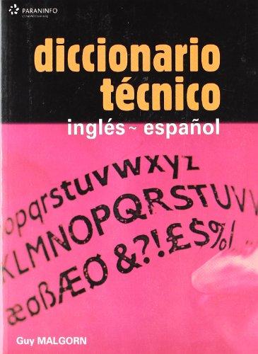 DiccionariotécnicoInglés-Español: Ingles-Espanol (842830923) por GUY MALGORN