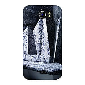 Cute Marbal Monument Back Case Cover for Micromax Canvas 2 A110
