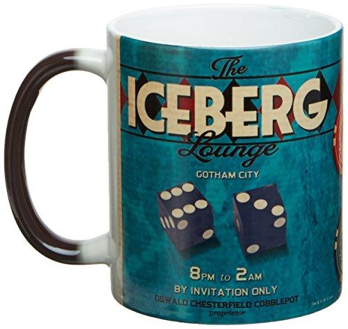 Dc Comics Justice League Iceberg Lounge Harley Quinn Bombshells Morphing Mug - Entertainment Earth...