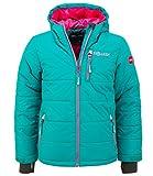 Trollkids Skijacke Hemsedal Snow smaragd/pink