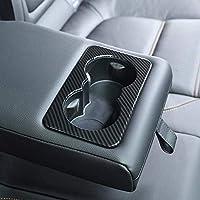 Ajuste de la cubierta del soporte de vaso de la fila trasera de plástico ABS para