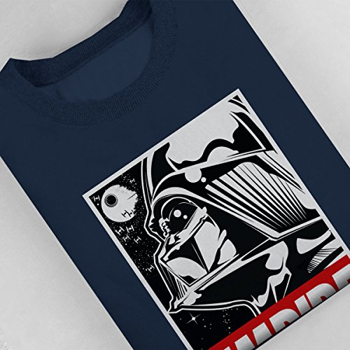 Obey Styled Star Wars Empire Women's Sweatshirt Navy blue