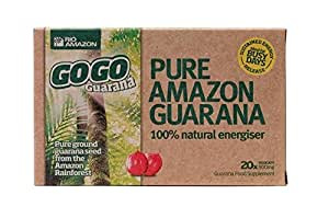 Rio Amazon GoGo Guarana 500mg 20 capsule x 1