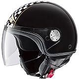 AXO Helm Subway, Schwarz/Gold (KORO), M