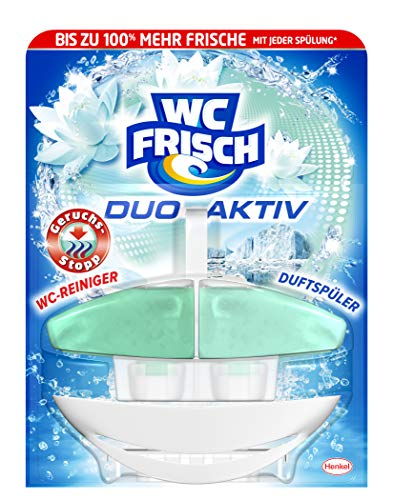 WC Frisch Duo Aktiv Duftspüler Geruchs-Stopp Original, 1 Stück