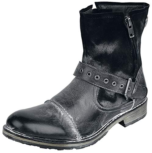 emp stiefel Rock Rebel by EMP Man on The Road Boots Schwarz EU43