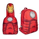 Marvel Avengers - Iron Man - Zainetto Per Bambini 36 Centimetri - Cappuccio Estraibile