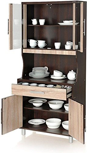 Royal Oak Crockery Cabinet (Brown)