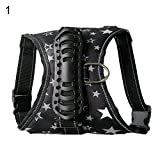 YSoutstripdu Pet Dog Star Camouflage Traktion Explosion Proof Atmungsaktives Brustgurt Geschirr