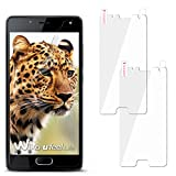 moex 2X Wiko U Feel Lite | Schutzfolie Klar Display Schutz [Crystal-Clear] Screen Protector Bildschirm Handy-Folie Dünn Displayschutz-Folie für Wiko U Feel Lite Displayfolie