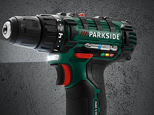 PARKSIDE Akku-Bohrschrauber 12 Volt | 19 Stufen + Bohrstufe