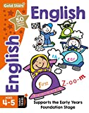 Gold Stars English Ages 4-5 Early Years: Supports the Early Years Foundation Stage (Workbook)