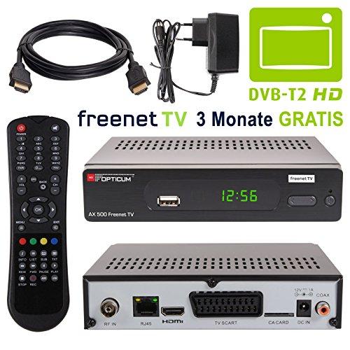 HB de Digital Set: AX500DVB-T2Receptor + Accesorios