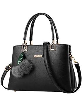 Baymate Handtaschen Henkeltaschen Elegante Umhängetasche für Damen Schultertasche