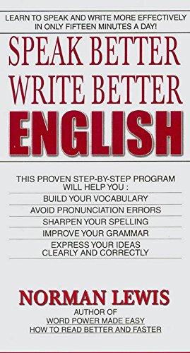 Speak Better Write Better Image