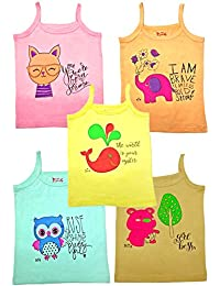 HAP Kids Colored Camisole Pack of Five
