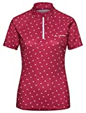Vaude Damen Women's Dotweet Tricot Trikot, Red Cluster, 42