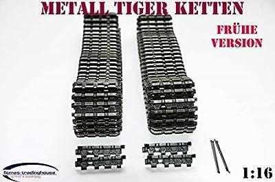 Metall Ketten FRÜHE Version Panzer Tiger I Heng Long 1:16 von Heng Long