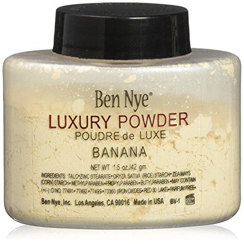 (Luxury Face Makeup Ben Nye Banana Powder 1.5 oz Bottle Kim Kardashian 42g by Ben Nye)