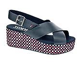 Best Tommy Hilfiger sandalias de plataforma - Tommy Hilfiger EN0EN00210 Zapatos DE Cuña Mujer Midnight Review