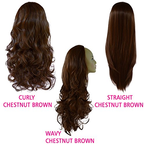22-ladies-3-4-wig-half-fall-curly-chestnut-brown