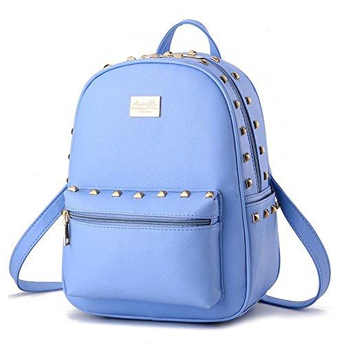 koson-man-girl-mujer-remaches-mochila-diario-hombros-bolsa-azul-azul-kmukhb192