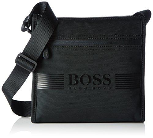 BOSS Green Pixel_b Zip Env, Sacs portés épaule homme, Schwarz (Black), 27x27x7 cm (B x H T)