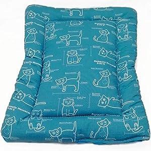 Katzenmatte Katzenbettchen – Katzen-Blaupause