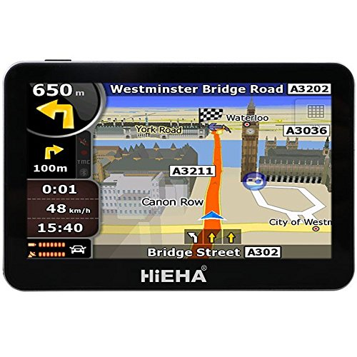hieha-43-inch-car-bus-gps-sat-nav-speedcam-lifetime-eu-uk-maps-8gb
