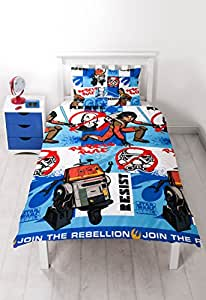 Character world Star Wars, Rebels, Disney-Set da letto singolo