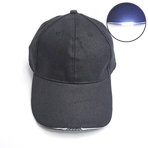 Cuitan Lampade da Testa per Uomini e Donne Cappello Pesca con Visiera 95b91be87902