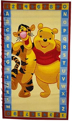 Winnie the Pooh und Tigger Spielteppich Teppich 80 x 140 cm -