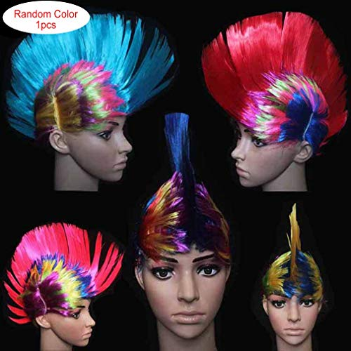 RoadRoman Cockscomb Haar Perücke Halloween Maskerade Ball Party Fashion Punk Frisur