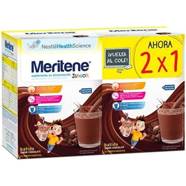 Nestle Health Science Meritene Junior Chocolate - 2X1 ...