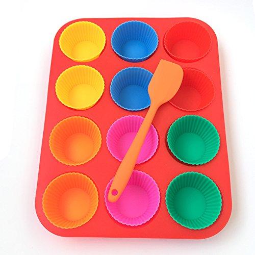 muffin-e-cupcake-party-set-per-dolci-1-modulo-silicone-per-cupcake-12-pirottini-di-cupcake-di-silico