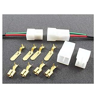 Tama Kabel/Draht-Multi-Stecker, 2-Wege-Crimpklemmen (1 Set männlich/weiblich)