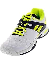 Nuevo Babolat Propulse Todos los zapatos de tenis Junior Junior Calzado deportivo Blanco / Azul / Rojo, Blanco/Azul/Rojo, 31