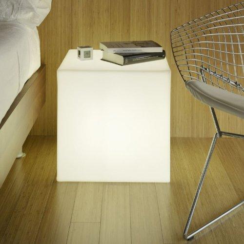 newgarden Energisparlampe, Plastik, E27, 15 W, weiß, 43 x 43 cm