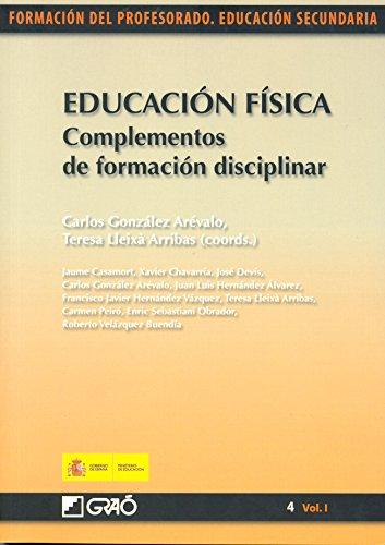 Educación física. Complementos de formación disciplinar por Carmen Peiró